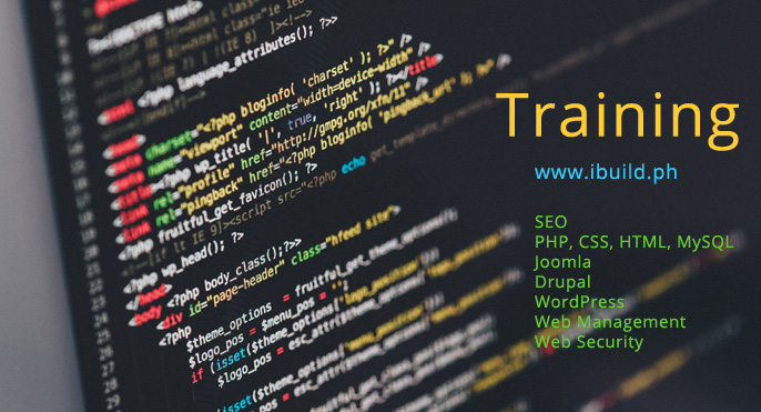 Web and SEO training in the Philippines, Metro Manila
