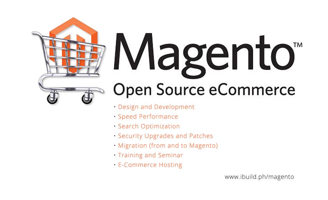 Magento E-Commerce Developer and Designer in the Philippines, Manila