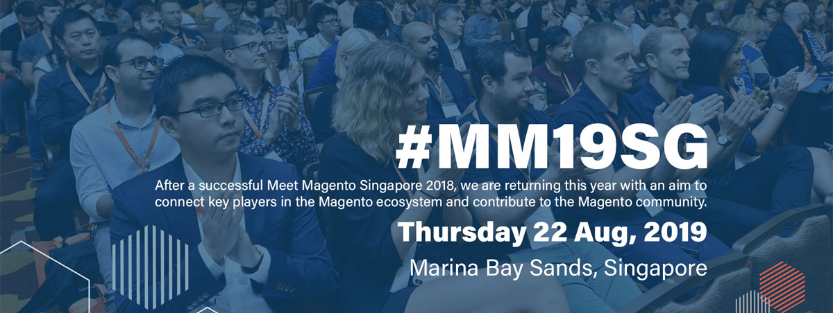 Magento ecommerce platform, SG annual conference event and meet