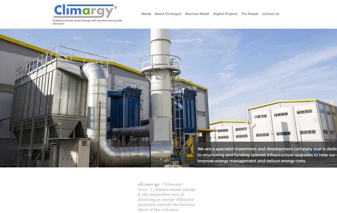 Climargy announces new website to more effectively reach and convey their energy efficiency core services to the market.